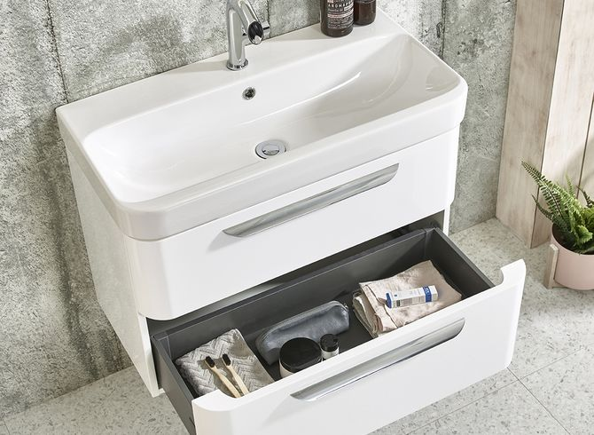 System 800 white detail drawer open 2298547