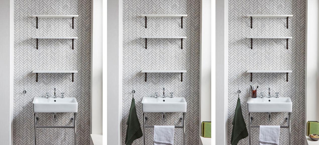 Roper Rhodes 5 Simple Steps To Styling A Bathroom Shelf