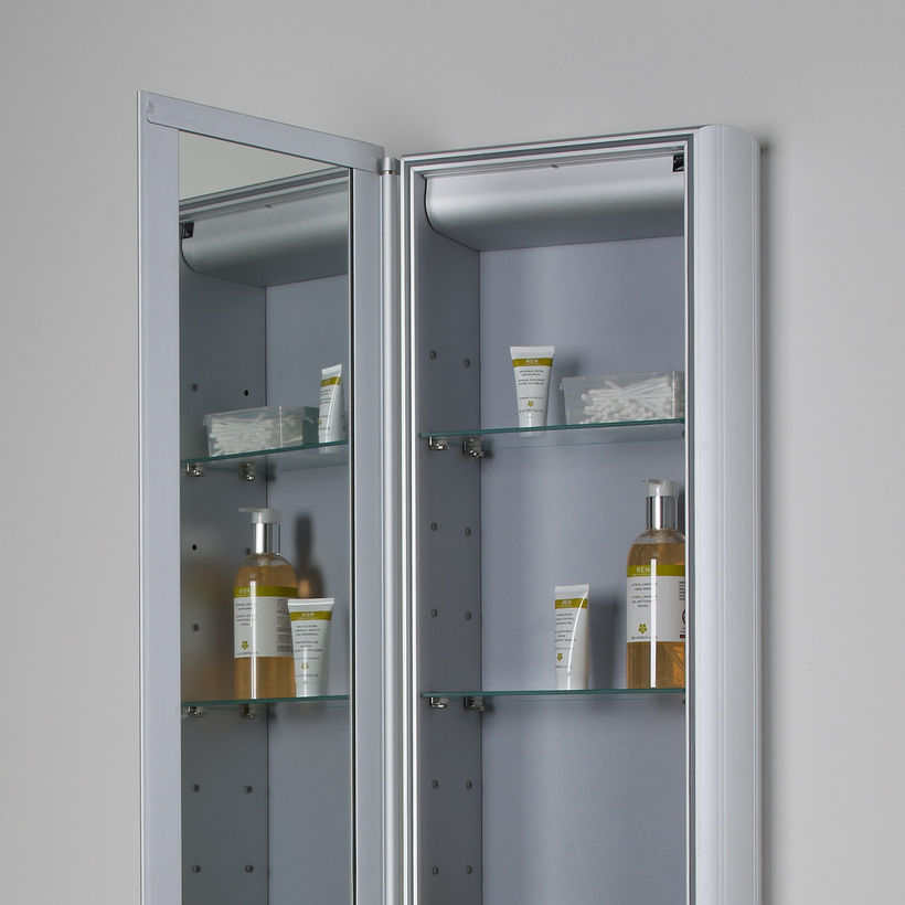 Reference aluminium cabinet top shelves AS315 AL