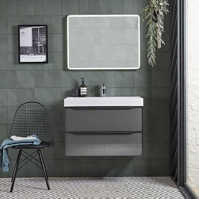Frame 800mm GDC unit with mirror lifestyle