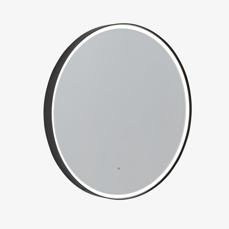 Frame Circular Illuminated Mirror