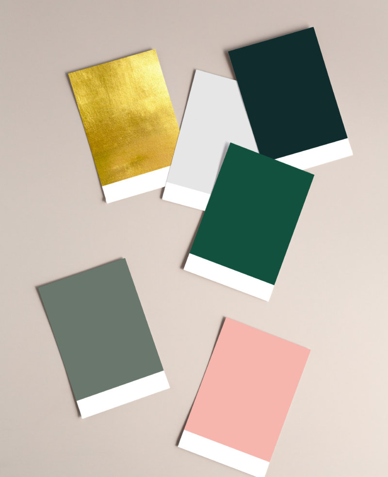 Paint Swatches How to Add Colour to your bathroom
