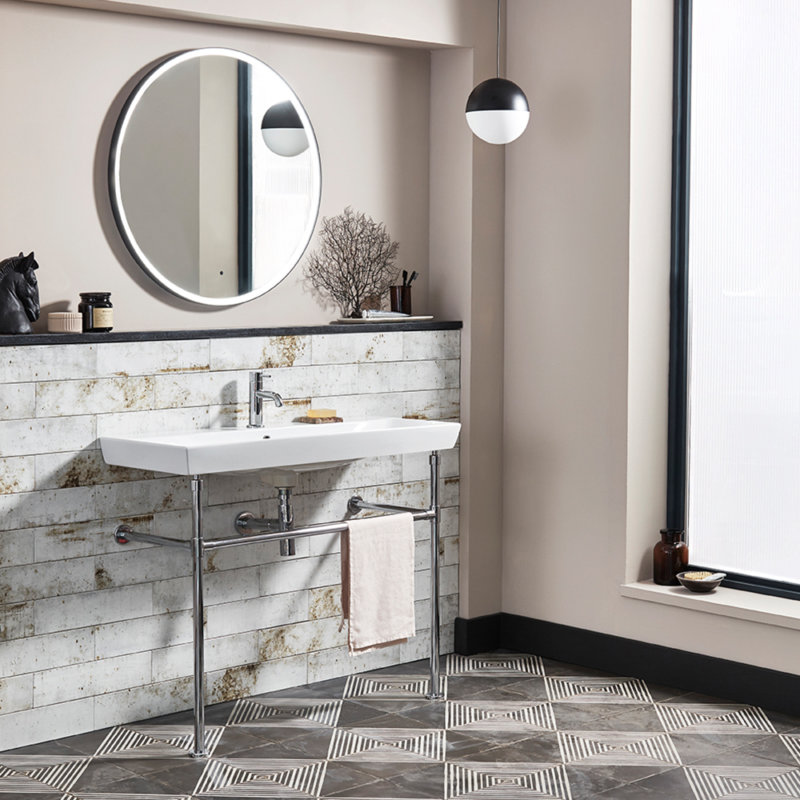 Square Inlay Washstand with scheme lifestyle DPS
