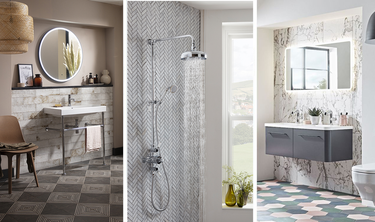 How to design your bathroom colour palettes